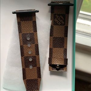 Apple watch Louis Vuitton strap Authentic